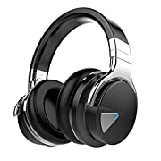 #LightningDeal 58% claimed: Cowin E-7 Wireless Bluetooth Over-ear Stereo Headphones with Microphone and Volume Control - Black