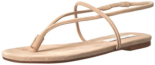 Chinese Laundry Kristin Cavallari Women's Knock Out Flat Sandal, Tigers Eye Suede, 9 M US ()
