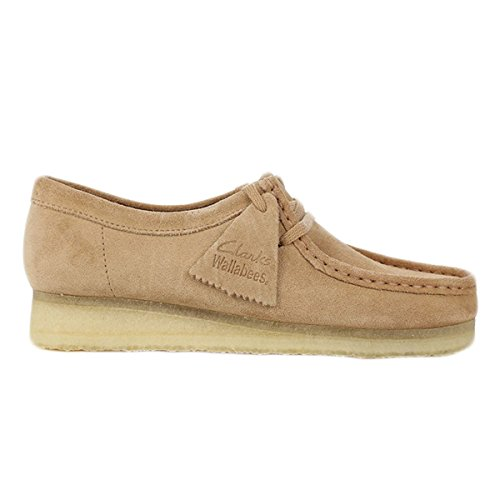 clarks-originals-mens-wallabee-brown-suede-shoes-95-us