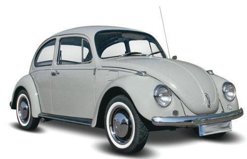 Revell '68 Volkswagen Beetle Plastic Model Kit (Level 2 Model Kit)
