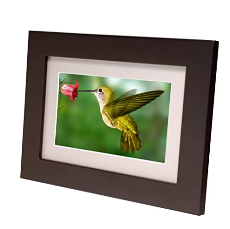 Amazoncom Smartparts Sp72 7 Inch Digital Picture Wood Frame With
