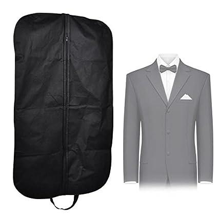 7d7af95e00 Image Unavailable. Image not available for. Color  Clothing Storage Bag - 1  Piece Dustproof Coat Clothes Garment Suit Cover Bags Hanger ...