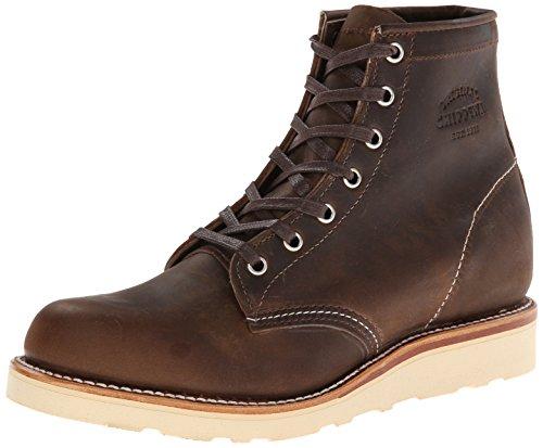 Original Chippewa Collection Mens 6-Inch Plain-Toe Boot