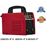 STARO Cast Iron ARC 200 D Portable Inverter Welding Machine, 220 V, 200A, 229 W (Red)