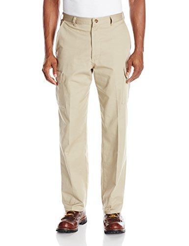 Red Kap Men's Cotton Cargo Pant , Khaki, 38x30