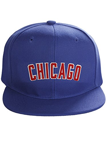 Chicago Cubs Flat Bill Hats b6230ccc430a
