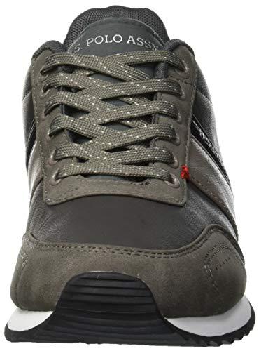 U Grey S Uomo Vance POLO Sneaker Grey Grigio ASSN 77arqzw