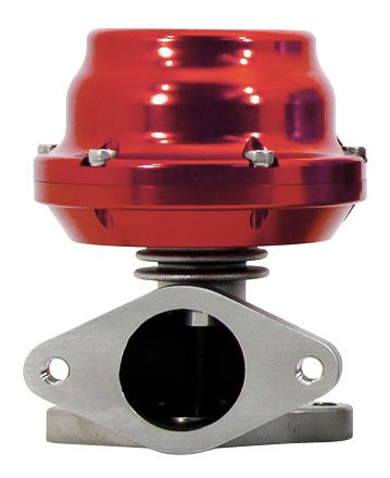 TiAL F38 Wastegate - 17.40 psi/1.20 bar (sm. red + lrg. red) spring, Red Body ()