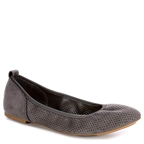 XAPPEAL Womens Clair Slip On Ballet Flat Shoes, Grey, for sale  Delivered anywhere in USA
