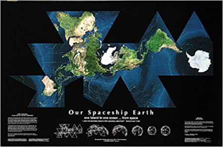 Our Spaceship Earth Satellite Map: 9781881560012: Amazon.com: Books