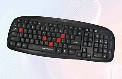 Quantum QHM7408M usb Multimedia Keyboard Gaming Keyboards