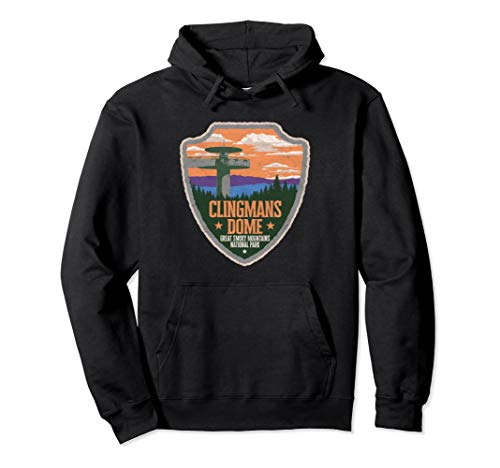 Clingmans Dome - Clingmans Dome Great Smoky Mountains Park Vintage Hoodie