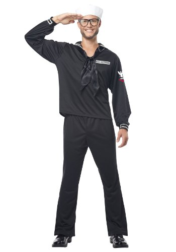 California Costumes Navy, Black, Large (Sailor Halloween Costumes For Men)