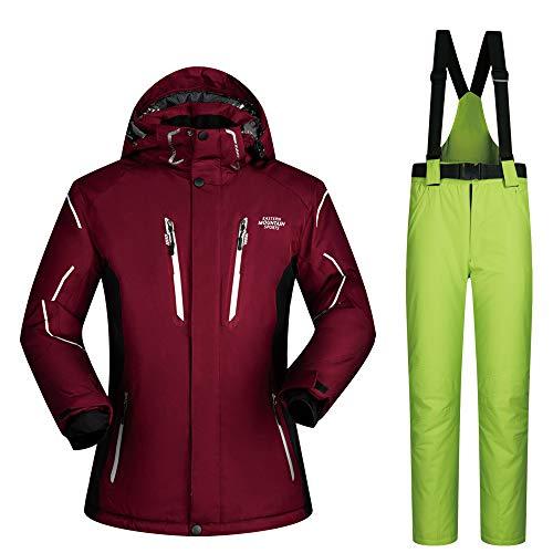 B Imperméable Chaude De Ski Pour Pantalon Hommes Épaissie L'eau À 7v6yYbfg