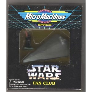 icro Machines Limited Edition Collectible - Darth Vader with Imperial Star Destroyer - Numbered Series ()