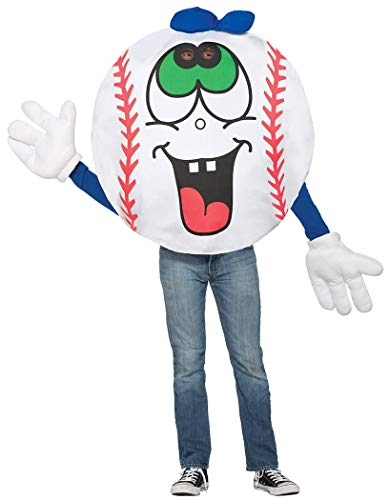 Forum 76832 Men's Baseball Costume, One Size, Multicolor,