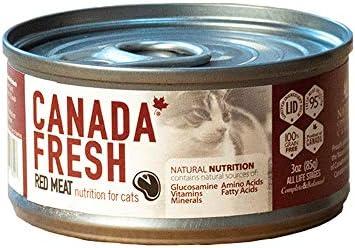 カナダフレッシュ キャット缶 レッドミートLID 156g×24缶【総合栄養食】