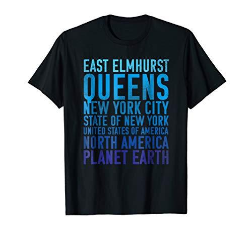 East Elmhurst Shirt : Queens New York of Planet Earth TShirt -