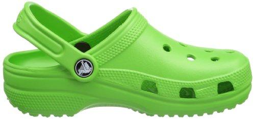 Crocs 10006 - Sabots - Mixte Enfant Vert (Lime) d9qZtACpiS