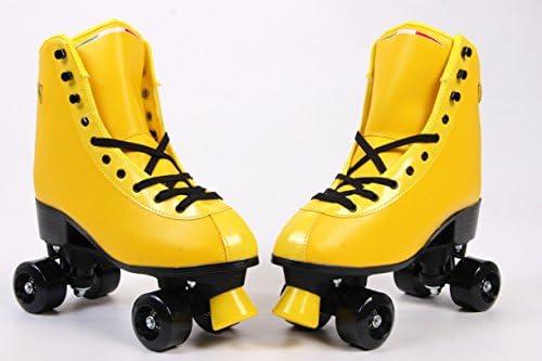 Ferrari Classic Roller Skates, Yellow, Size 37