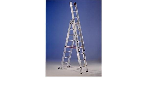 Svelt - Escalera Mixta Aluminio 3X12 Peldaños Hasta 8 Mt E312: Amazon.es: Bricolaje y herramientas