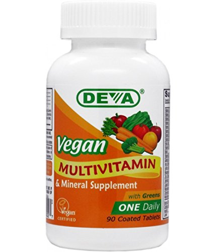 Deva Vegan Multivitamin & Mineral One Daily 90 Tablets