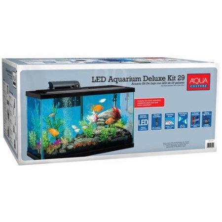 Aqua Culture 29 Gallon Aquarium Starter Kit with LED by Aqua Culture