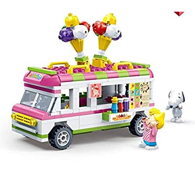 Happy Town Toys BanBao Peanuts - Ice Cream Truck Set: Toys & Games