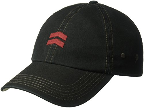 A. Kurtz Men's Coated Baseball Cap, Black, (A Kurtz Cap)