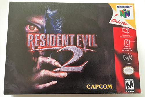 (Resident Evil 2 (Nintendo 64 / N64) - Reproduction Video Game Cartridge with Universal Game Case and Glossy Manual)