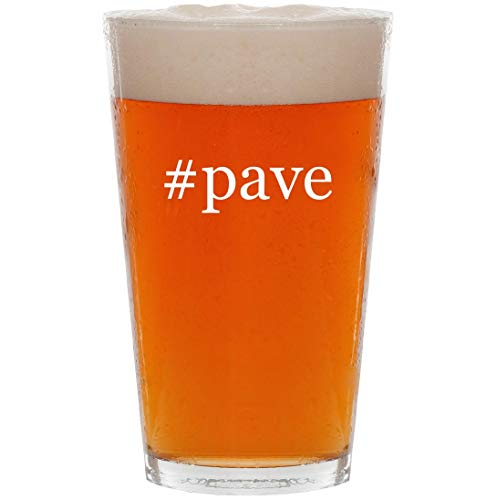 #pave - 16oz Hashtag All Purpose Pint Beer Glass