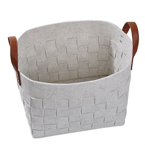 Large Storage Basket,Felt Basket, Toy Chest, Beautiful Color Design, Home Decor addition for Toy Storage, Blankets, Laundry,Games etc., Loong Baby (Beautiful Baskets)