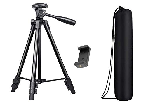 US1984 50 inch Portable Professional Legs Aluminium Flexible Tripod Stand for Canon Nikon Sony Pantex Camera Camcorder DV DSLR