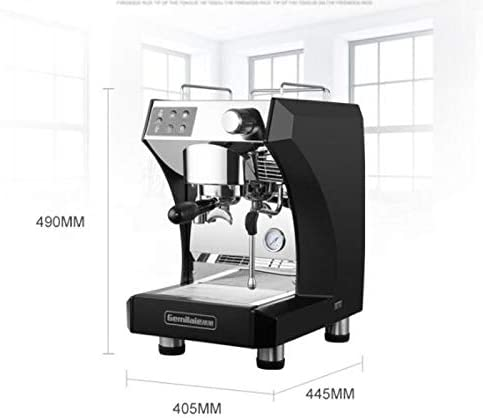 Máquina de café espresso semiautomática que bombea cafetera ...
