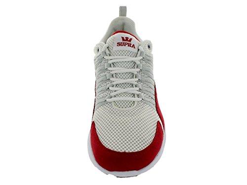 SUPRA OWEN WHITE MESH-FORMULA 1 RED-GRY