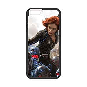 iPhone 6 4.7 Inch Cell Phone Case Black Black Widow vs Ultron Swarm BNY_6877438