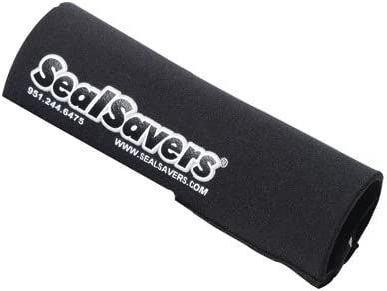 Seal Savers Zip-On Fork Covers 44-50mm Fork Tube Short Black for Yamaha WR250R 2008-2018