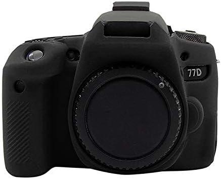 Color : Black ANTONIDAS Diffuse Silicone Protective Case for Canon EOS 77D Camera bag