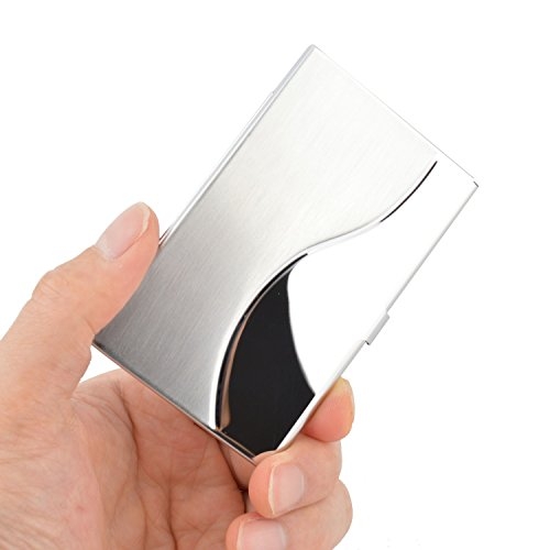 maxgear-professional-business-card-holder-business-card-case-stainless-steel-card-holder-keep-busine