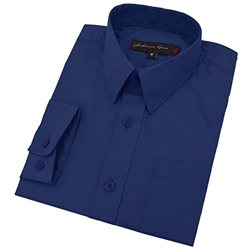4t royal blue dress shirt - 6