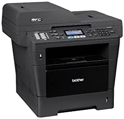 Brother Printer MFC8710DW Wireless Monochrome Printer with Scanner, Copier and Fax, Amazon Dash Replenishment Enabled