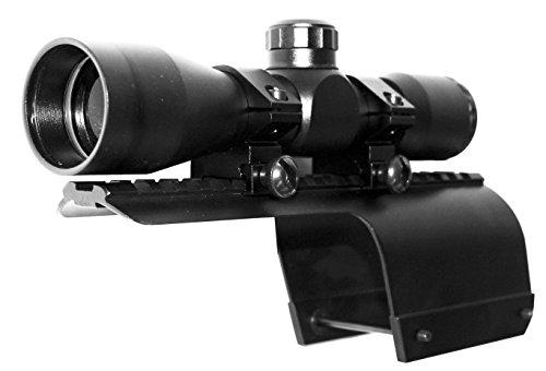 4x32 Tactical Mil-dot Scope with Mount for 12Gauge Benelli Nova/Super Nova, Single Rail Mount.