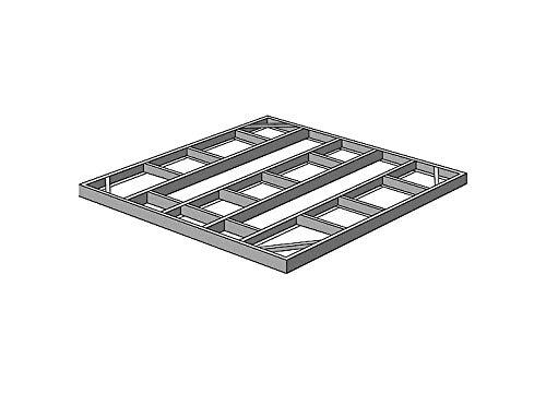 Arrow FDN109 Storage Shed with Floor Base Kit for 8'x8', 10'x8' & 10'x9' Arrow sheds by Arrow