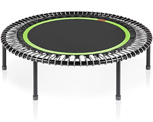 bellicon Classic 49 Workout Trampoline with Fold-up Legs – Made in Germany – Best Bounce – 60 Day Online Workout Program Included