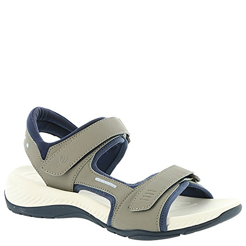 Easy Spirit Noise 3 Women's Sandal Grey-navy new for sale clearance low shipping fee cheap sale recommend Gvzvt