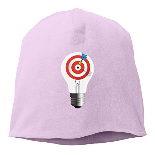 Kla Ju Man Skull Cap Beanie Lighting Target Headwear Knit Hat Warm Hip-hop Hat]()