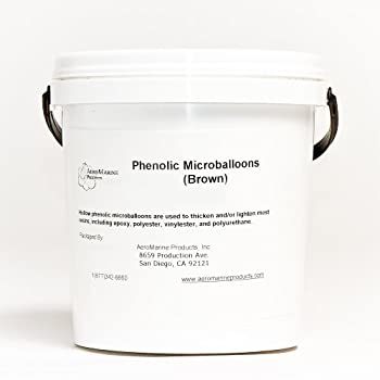 Phenolic Microballoons filler for epoxy and polyester resins 1/2 gallon