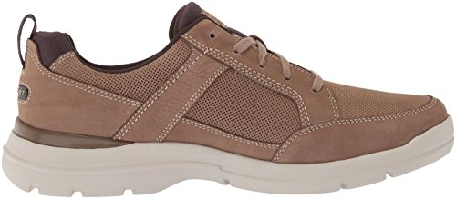 Rockport Mens City Edge Snörning Sko Taupe Nubuck