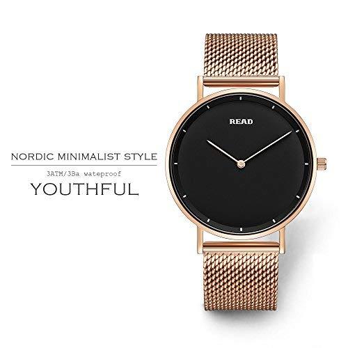 READ Reloj para Hombre, Reloj de Cuarzo, Marca de fábrica Superior, Relojes de