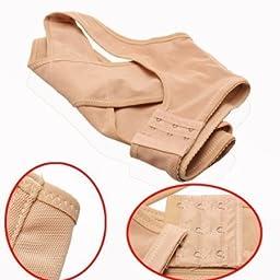 Forever Lover Women Chest Brace Support Belt Make More Chesty Corrector Shoulder Vest X Type Underwear (M)